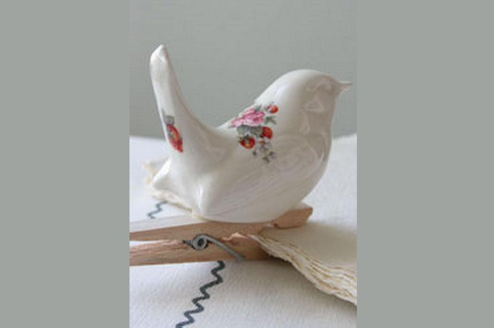 Ceramic Bird Decoration