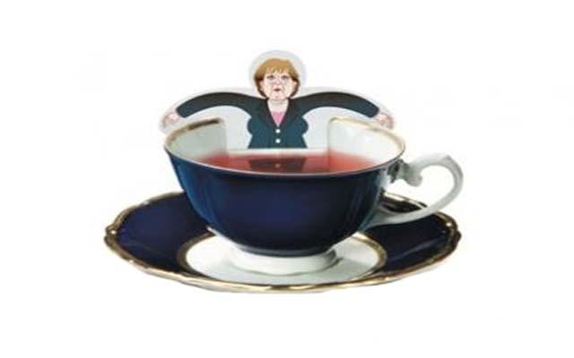 Τσάι με την Μέρκελ