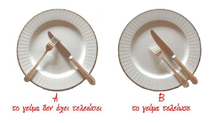 tableart etiquette utensil1 Savoir vivre: Πως κρατάμε τα μαχαιροπίρουνα όταν τρώμε