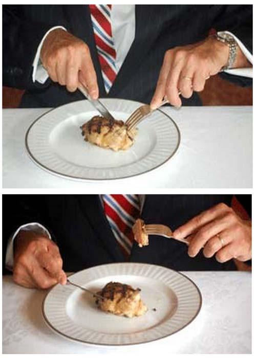 tableart etiquette utensil3 Savoir vivre: Πως κρατάμε τα μαχαιροπίρουνα όταν τρώμε