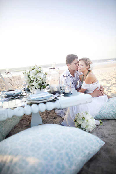 tableart wedding proposal on the beach Πρόταση γάμου στην παραλία