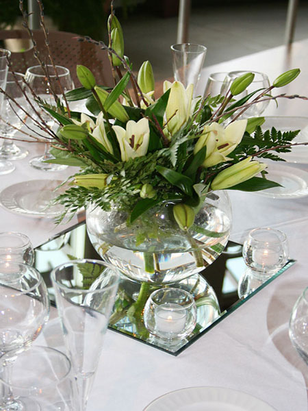 tableart mirrors table setting  Καθρέφτες στο τραπέζι