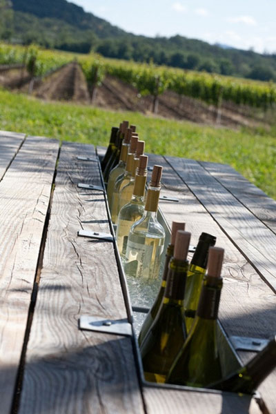 tableart wine table Wine cooler