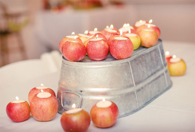 tableart_apple_candle