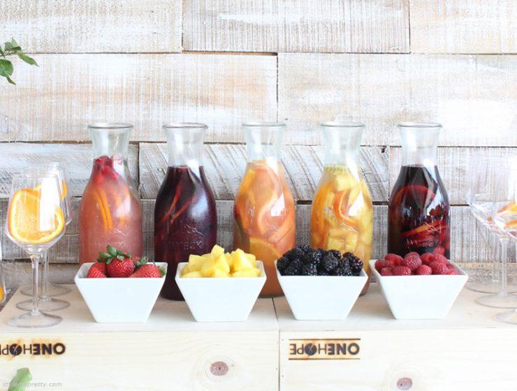 Tips για το τέλειο Sangria Bar