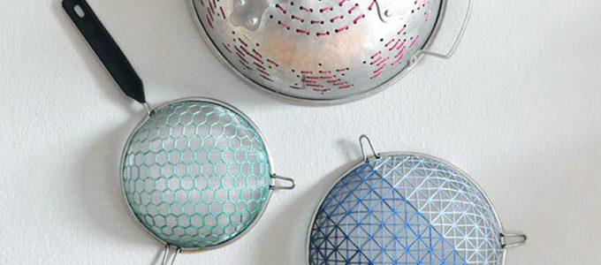 DIY: Μετατρέψτε τα σουρωτήρια σας σε έργο τέχνης