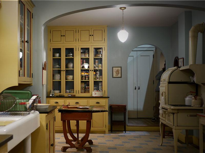 H κουζίνα του Mildred Pierce