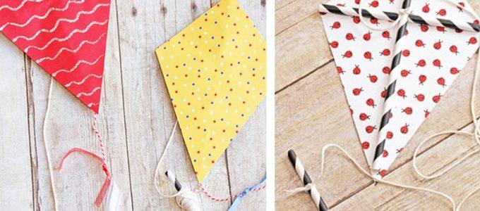 DIY: Φτιάξτε μίνι χαρταετούς